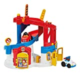 Fisher-Price Mattel DFP26 - Little People 2-in-1 Einsatzzentrale