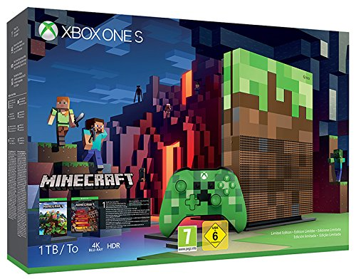 Foto Xbox One: S 1TB + Minecraft [Bundle]