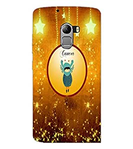PrintDhaba Zodiac Cancer D-3665 Back Case Cover for LENOVO K4 NOTE A7010 (Multi-Coloured)