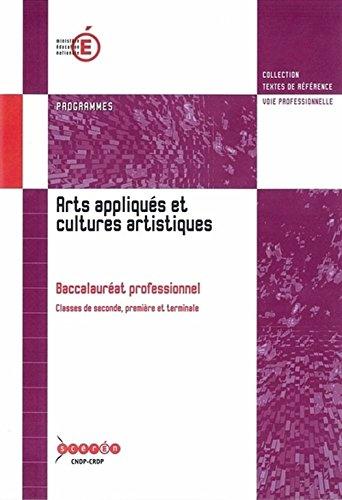 Bac Pro Arts Appliques et Cultures Artistiques