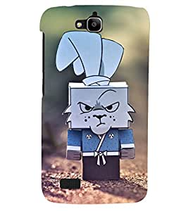PRINTSHOPPII ANGRY CARTOON Back Case Cover for Huawei Honor Holly::Honor Holly