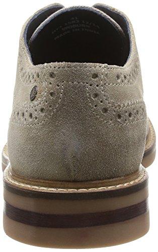 Base London Woburn, Chaussures de ville homme Beige (Suede/Linen Sand)