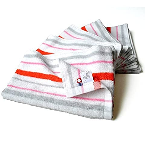 CYBERL Broome Stripe Hand Towel Set of Five by CYBERL