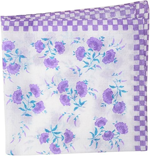 Zacharias Floral handkerchief For Girls pack of 3  available at amazon for Rs.99