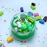 Tonspielzeugschlamm,Jaerio Regenbogen Charms Klar Schleim Schöne Farbe Lollipop Schleim Kinder Relief Stress Spielzeug 2019 heiß