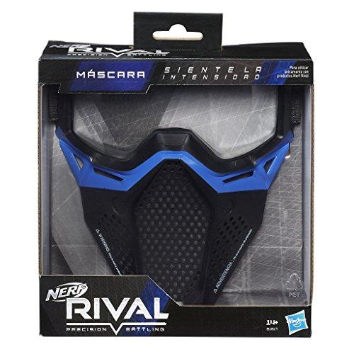Nerf - Rival Máscara, Color Azul (Hasbro B1617SC3)