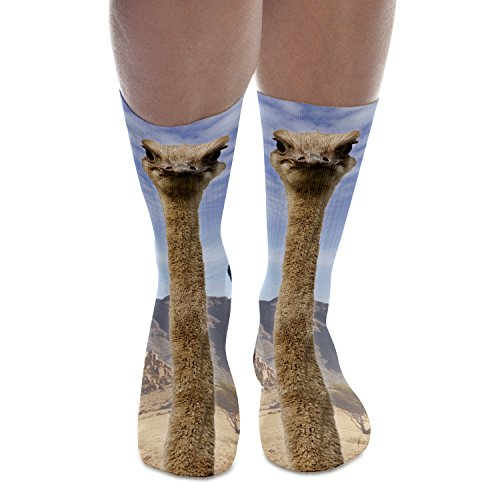 Fringoo-Mens-Women-Fully-Printed-High-Socks-Funky-Novelty-Emoji-Teenage-Fashion-Tube-Socks