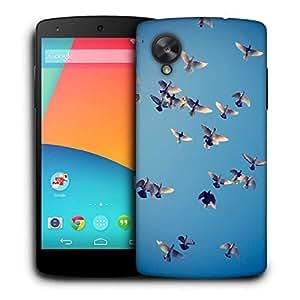 Snoogg Ubuntu Birds Printed Protective Phone Back Case Cover For LG Google Nexus 5