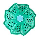 Bola Alternativa de Detergente Liquido y Polvo – Bola para Lavado Natural e Hipoalergenico – Reemplazante de Jabón de Ropa Bio – Pelota Reutilizable Ecológico para Colada, Lavadora, Lavandería – Bola de Limpieza