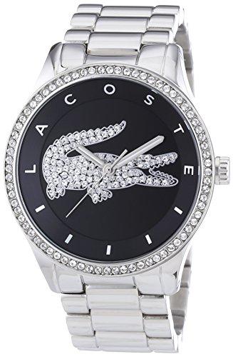 Lacoste Damen-Armbanduhr Analog Quarz Edelstahl 2000868