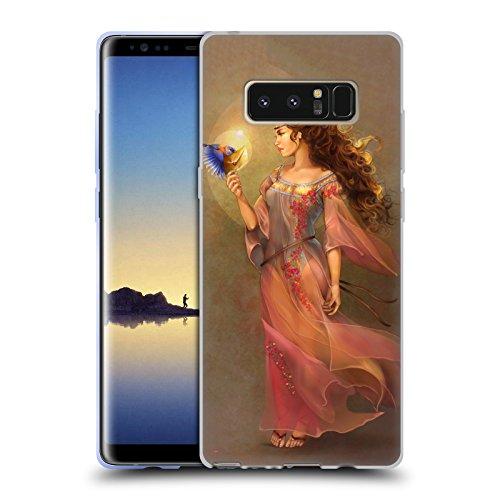 Offizielle Renee Biertempfel Botschafter Jungfrau Soft Gel Hülle für Samsung Galaxy Note8 / Note 8