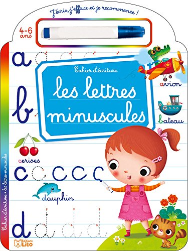 J'écris, j'efface et je recommence: Les lettres minuscules - Dès 4 ans par Marzia Giordano