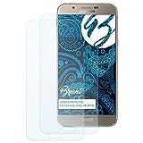 Bruni Schutzfolie für Samsung Galaxy A8 (2015) Folie - 2 x glasklare Displayschutzfolie