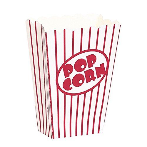unique-party-scatole-per-pop-corn-in-cartone-piccole-confezione-da-8-taglia-unica-rosso-bianco