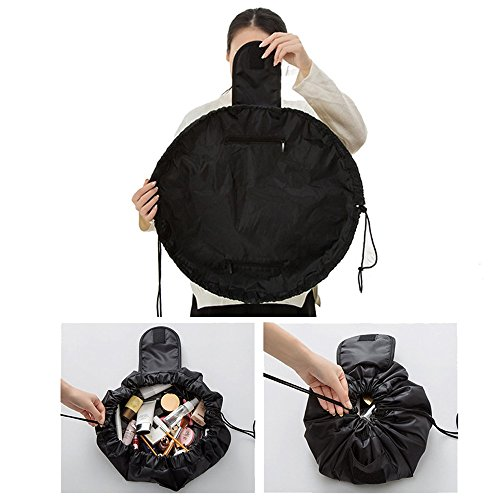 Makeup Bag, Ularma Portable Travel Beauty Drawstring Jewelry Cosmetic Organizer Storage