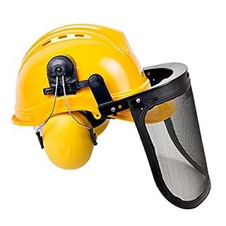 Kopf Augenschutz Kombi Forsthelm Helm Gehörschutz Gesichtsschutz Schutzhelm | P3