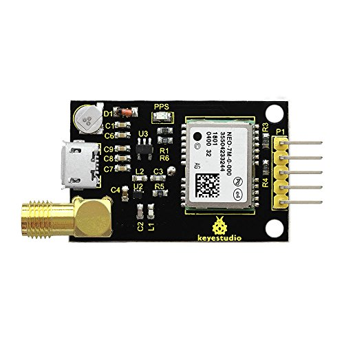 KEYESTUDIO GPS-Modul Kompatibel NEO-7M für Arduino Raspberry Pi