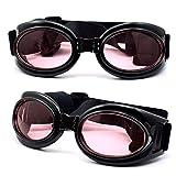 Dreamworldeu Sonnenbrille Hundebrille Sonnenschutz Brille für Hunde Haustier/Schutzbrille Hundesonnenbrille