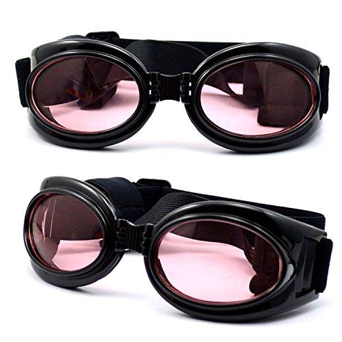 dreamw orldeu Gafas de sol Perros Gafas de sol Gafas de protección para perros mascotas/Gafas de protección Perros Gafas de sol, negro