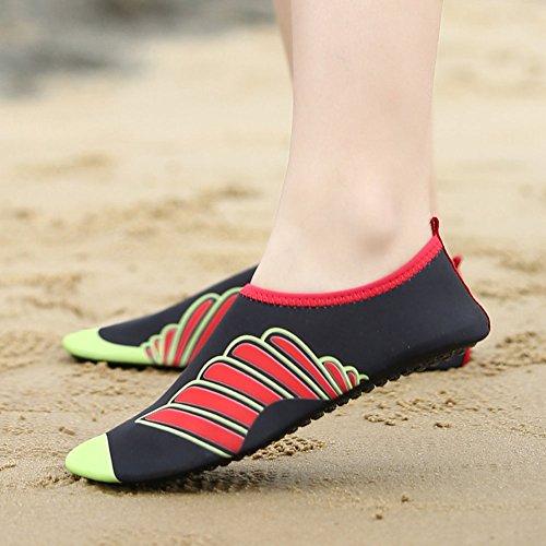Sapatos Água Surf Aqua Mulheres Com Para Hibote De 2 Sapatos Antiderrapante Mare Sapatos Unissex Flutuantes De Homens Praia De Sapatos Sapatos Badeschuhe Sola Do Xq0w7