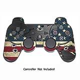 Sony PS3 Controller Sticker - Aufkleber Schutzfolie Skin für Playstation DualShock 3 Wireless Controller - Battle Torn Stripes