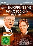 Inspektor Wexford ermittelt, Vol. 2 (The Ruth Rendell Mysteries) / Weitere fünf spannende Langfolgen der legendären Krimiserie nach den Romanen von Ruth Rendell (Pidax Serien-Klassiker) [3 DVDs]
