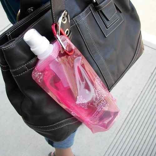 Preisvergleich Produktbild Faltbare Flexible Trinkflasche Flasche Wasserflasche Sportflasche Fahrradflasche