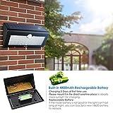 Albrillo LED Solarleuchte mit Bewegungsmelder - 6