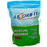 ABZORB-IT MOISTURE ABSORBER REFILL, 1200g (Pack of 2)