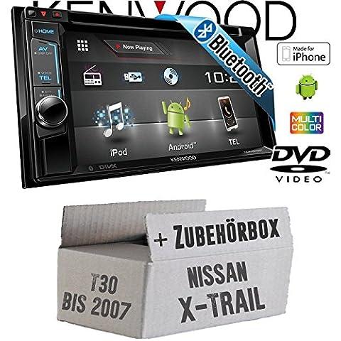 Nissan X-Trail T30 bis 2007 - Kenwood DDX4016BT - 2DIN