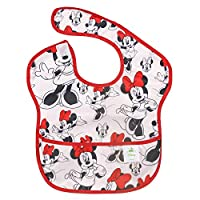 Bumkins Disney Baby Waterproof Superbib, Minnie, 6-24 months