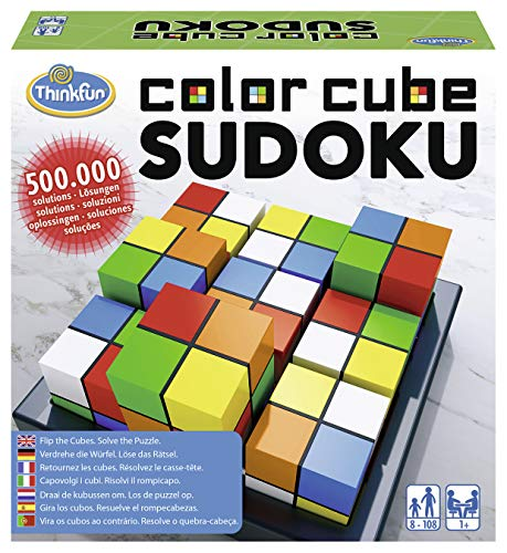 Ravensburger 76342 ThinkFun Color Cube Sudoku Spiel - Smart Game