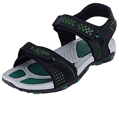 86136f7e5353 Lancer Men s Outdoor Sandals  Amazon.in  Shoes   Handbags