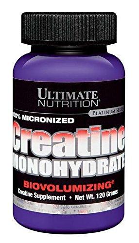 Ultimate Nutrition 100% Micronized Creatine Monohydrate Standard, 120 g
