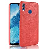 fitmore Huawei Honor 8X Cover TPU Skin Protector Protective Phone Hülle Cover Compatible with Huawei Honor 8X (Red)