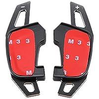 Emblem Trading Emblem DSG Steptronic Multitronic Tiptronic Schaltwippen Schwarz Verlängerung Padels Golf 7 GTI GTD R Scirocco R