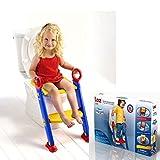 Baby Kinder Kleinkind Töpfchen Training WC-Leiter Sitz Schritte platzsparend
