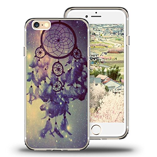 iPhone 6S Plus Fall, iPhone 6 Plus Case Top, die viwell (TM) Lovely Apple 6/6S Plus (14 cm) Fall - Star Traumfänger
