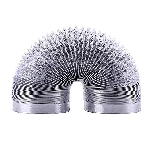 Abluftschlauch 6M Single Layer Aluminiumfolie Retractable Hose Luftwechsel Auspuffrohr Verdickter Lüfter Belüftungsrohr -