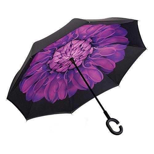 TRADE® Reverso Paraguas Invertido Manual Abierto