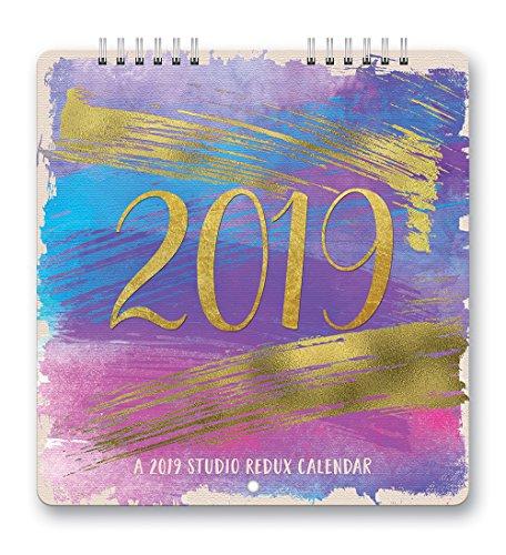 Aquarelle Studio Redux 2019 Calendar - Orange Aquarell