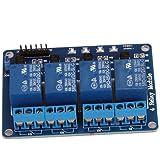 WINGONEER 5V 4-Channel Relais Shield module pour Arduino ARM PIC AVR DSP électronique