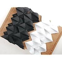 Neotrim Petersham Grosgrain Sculptured Origami Boxed plissettato