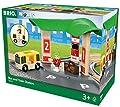 BRIO World 33427 - Bus- und Zug-Bahnhof von BRIO
