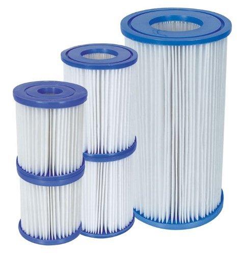 Filtre de rechange pour pompe 1250Lt/H de piscine à cartouche d.8x 9H cm
