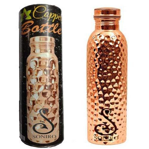 Soniro Copper Water Bottle, Ayurvedic, 1 L Pack of 1