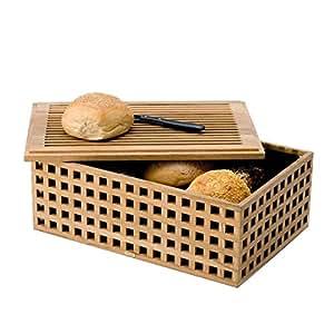 Skagerak Pantry - Boîte à pain, teck 35,5x24x14cm