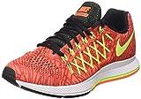 Nike Damen Wmns Air Zoom Pegasus 32 Print Turnschuhe, Arancione (Hyper Orange/Volt-Unvrsty Red), 37.5 EU