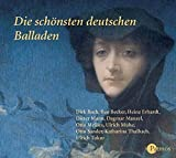 Die schönsten deutschen Balladen - 4 CDs - Joachim Ringelnatz, Johann Wolfgang von Goethe, Joseph von Eichendorff, Heinrich Heine, Annette von Droste-Hülshoff, Eduard Mörike, Friedrich Schiller, und andere