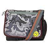 Sling Bag Cross Body/Messenger Sling Bag/Shoulder Side Sling Bag/Travel Bag for Men & Women, Multipurpose Sling Bag By JG Shoppee (Grey)